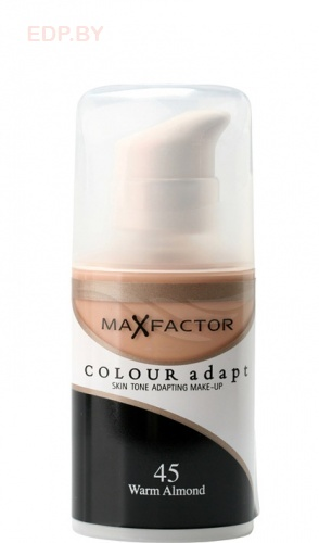 MF Тональный крем Color Adapt №045  Warm Almond.  34 ml