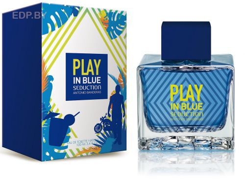 ANTONIO BANDERAS - Blue Seduction Play (M) 100ml туалетная вода