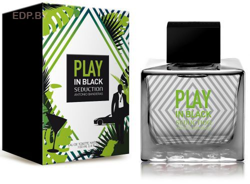 ANTONIO BANDERAS - Seduction In Black Play (M) 100ml туалетная вода