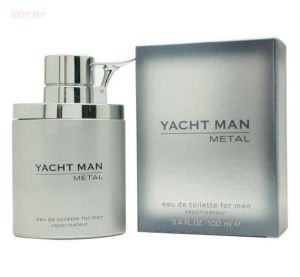 MYRURGIA - Yacht Man Metall (M) 100ml туалетная вода