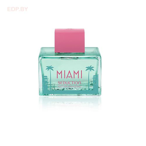 ANTONIO BANDERAS - Blue Seduction Miami (L) 80ml туалетная вода