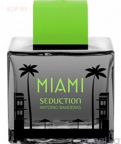 ANTONIO BANDERAS - Seduction in Black Miami (M) 100ml туалетная вода