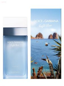 DOLCE & GABBANA - Light Blue Love In Capri (L) 25ml туалетная вода