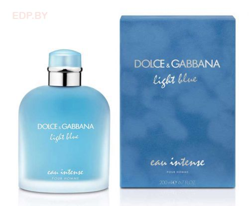 DOLCE & GABBANA - Light Blue Eau Intense (M) 50ml парфюмерная вода