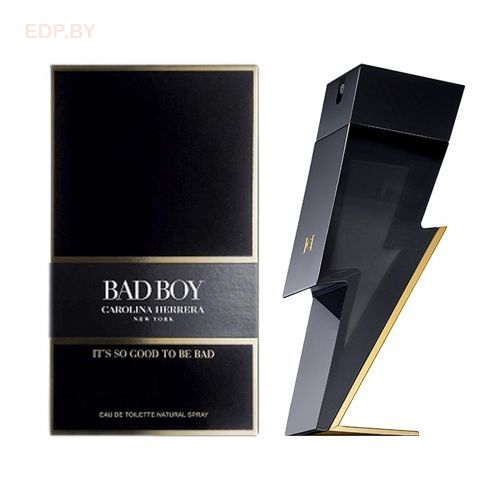CAROLINA HERRERA - CH BAD BOY (M) 100ml туалетная вода