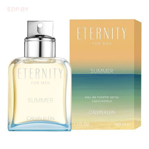 Calvin Klein - ETERNITY SUMMER (M) туалетная вода 100 ml.