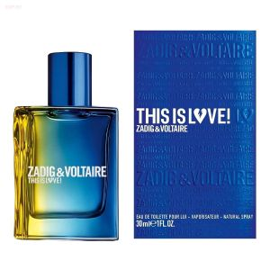 Zadig & Voltaire -  This is Love For Him (M) 100ml туалетная вода, тестер