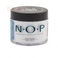 INM. NOP. Acrylic Powders Clear, 1,5 oz (42 г.) - прозрачный акрил системы без запаха