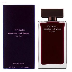 NARCISO RODRIGUEZ - For Her  L'Absolu  (L) 100ml парфюмерная вода, тестер